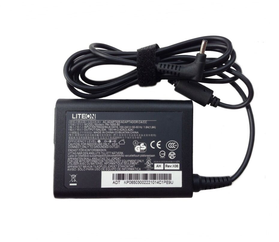 Original 19V 342A Liteon PA 1650 80 AC Adapter Charger
